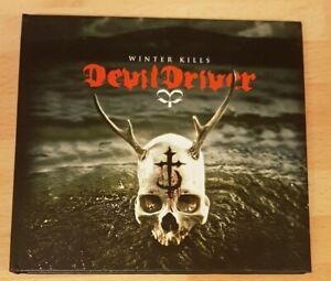 DEVILDRIVER 'WINTER KILLS' - LIMITED EDITION CD ALBUM WITH BONUS DVD