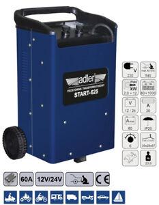 Batterieladegerät mit Starthilfefunktion Gleichrichter 540 Ampere 12/24V 1000Ah