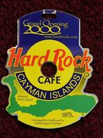 """HARD ROCK CAFE CAYMAN ISLANDS - GRAND OPENING 2000 - Ltd Ed - """"SHAPE"""" - REPAIRED"""