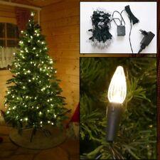 Lichterkette mit 120 LED Christbaum Kerzen Weihnachtsbaumbeleuchtung warmweiß