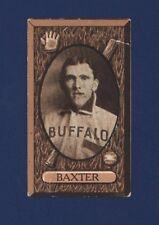 1912 IMPERIAL TOBACCO C46 No.80 WILLIAM BAXTER Buffalo !!