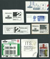 Uk - Selection of Computer Vended Postage stamps (atm/labels/meters/etc)