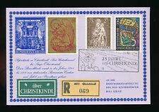 Christkindl-Reco-Karte 24.12.1974 + Vignette UZ 10    23/11/15