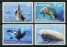 Bahamas Stamps 2019 MNH Marine Mammal Research Whales Manatees Animals 4v Set