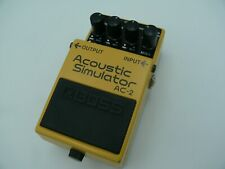 BOSS AC-2 Acoustic Simulator Guitar Effects Pedal from japan