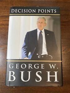 Decision Points- George W. Bush PLATE SIGNED- 2010