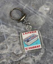 Porte clé publicitaire laiterie saint Hubert vache hubertine visiomatic vintage