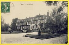 cpa 10 - PLANCY l'ABBAYE (Aube) Le CHÂTEAU Godard Collection Charue