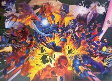 X-MEN 1994 FLEER ULTRA TEAM PORTRAIT LIMITED EDITION INSERT CARD SET 1 TO 9 MA