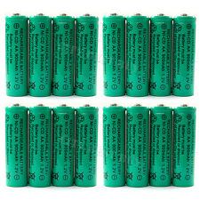 16 x AA 2A 900mAh 1.2V NiCd Ni-Cd Solar Rechargeable Battery Green