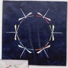 Dragonfly Dance - foundation paper pieced mini quilt PATTERN