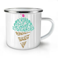 Ice Cream Art Cold Food NEW Enamel Tea Mug 10 oz | Wellcoda