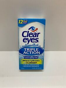 Clear Eyes Triple Action Relief 0.5oz