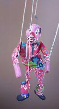 Marionnette à fils BOIS & PLÂTRE jeu jouet puppet with threads WOODEN toy #4