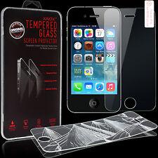 Apple iPhone 4 / 4S Panzerglas Schutzglas 9H Schutzfolie Echt Glas Panzer Folie