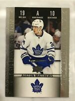 2019-20 UD TIM HORTONS GAME DAY ACTION Auston Mathews INSERT CARD # HGD-10 NM-M
