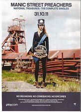 MANIC STREET PREACHERS National Treasures magazine ADVERT/mini Poster 11x8 inch