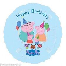 Palloncini rotondi Anagram per feste e party, tema Peppa Pig