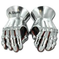 Armor Medieval Knight Gauntlets Functional Steel Armor Gloves