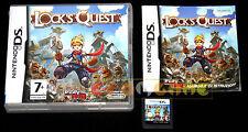 LOCK'S QUEST Nintendo Ds Versione Italiana ••••• COMPLETO