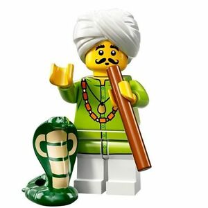 LEGO Minifigures Series 13 Indian Snake Charmer with cobra