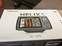 Humminbird Helix 5 SI/GPS Combo Features DualBeam PLUS Sonar, GPS Chartplotting