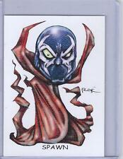 SPAWN ** TRADING CARD ART SIGNED by RAK ** NEAR MINT ** SEE MY STORE