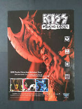 Kiss Psycho Circus - McFarlane Toys - Action Figures - Magazine Advert #B4218