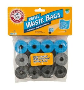 Arm & Hammer Disposable Waste Bag Refills 180ct