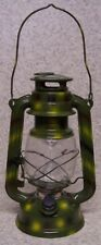 Halloween Safety Railroad Lantern See and Be Seen LED battery operated New Green