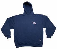 Vintage Navy Blue Russel Athletic NFL Tennessee Titans Sweatshirt Men's Size XL
