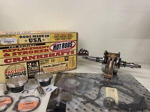 ARCTIC CAT PROWLER, WILDCAT 1000 ENGINE REBUILD CRANKSHAFT, PISTONS, GASKETS
