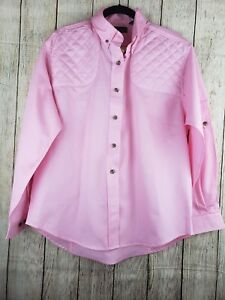 Kevin's Plantation Collection Women Pink Hunting Shirt Size L - NWT