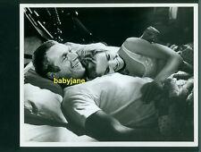 STEVE McQUEEN TUESDAY WELD VINTAGE 8X10 PHOTO IN BED 1965 CINCINNATI KID