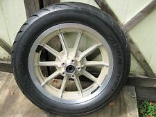 1998 Harley Davidson 95th Anniversary FLHTCI Touring Rear Wheel and Avon Tire