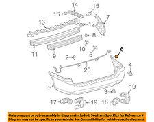 TOYOTA OEM 04-10 Sienna Rear Bumper-Side Support 52155AE010