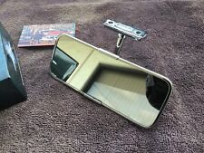 Custom Vintage Sports Car Roadster Coupe Stainless Inside Rear View Mirror
