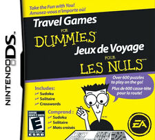 Travel Games For Dummies NDS New Nintendo DS