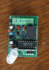 Mini Interrupteur sans fil 1 canal avec télécommande