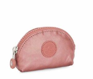 Kipling BAROE S Small Multi Use Pouch Coin Purse Metallic Water Resistant Wallet