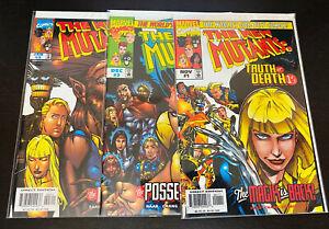 NEW MUTANTS Truth Or Death (1997 Marvel) -- #1 2 3 -- FULL Series