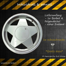 1x Nabendeckel*1-Deckel passt bei Borbet A Gecleant*Wheel Cap* Borbet Type A's