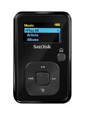 8GB SANDISK SANSA CLIP + PLUS MP3 PLAYER with BUILT IN FM RADIO & MICRO SD SLOT