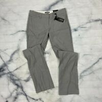 Express Editor Fit Barely Boot Dress Pants Size 0 Womens Gray Studio Stretch