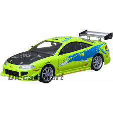 THE FAST AND THE FURIOUS (2001) 1995 MITSUBISHI ECLIPSE 1:43 BY GREENLIGHT 86203