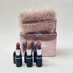 Mac Holiday 2020 Holiday Fireworked Like A Charm Mini Lipstick Kit : Pink