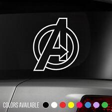 AVENGERS Marvel Iron Man Captain America Comics superhero Vinyl Decal Sticker