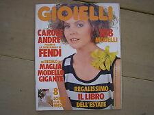 CAROLE ANDRE IN COPERTINA DI GIOIELLI # 7 1984