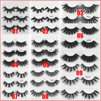 Long Dramatic Eye Lash Extension 3D Soft Mink Hair 25mm Lashes False Eyelashes