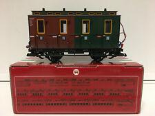 LGB 30503 Spur G Personenwagen 3./4. Klasse grün-braun